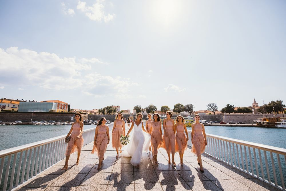 Wedding photography in Zadar