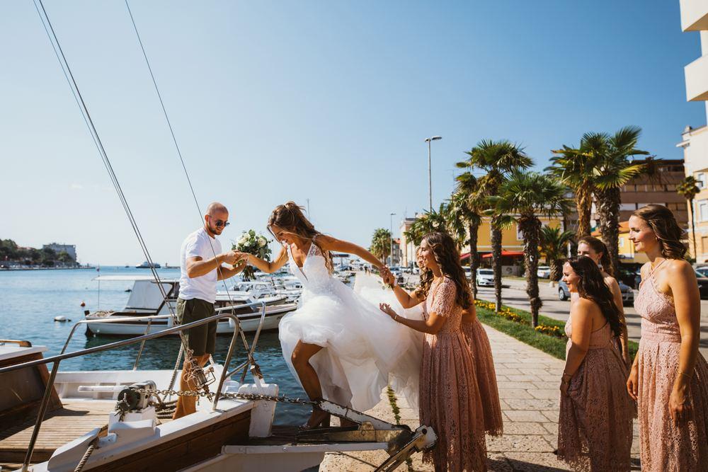 Croatian wedding destination - Zadar