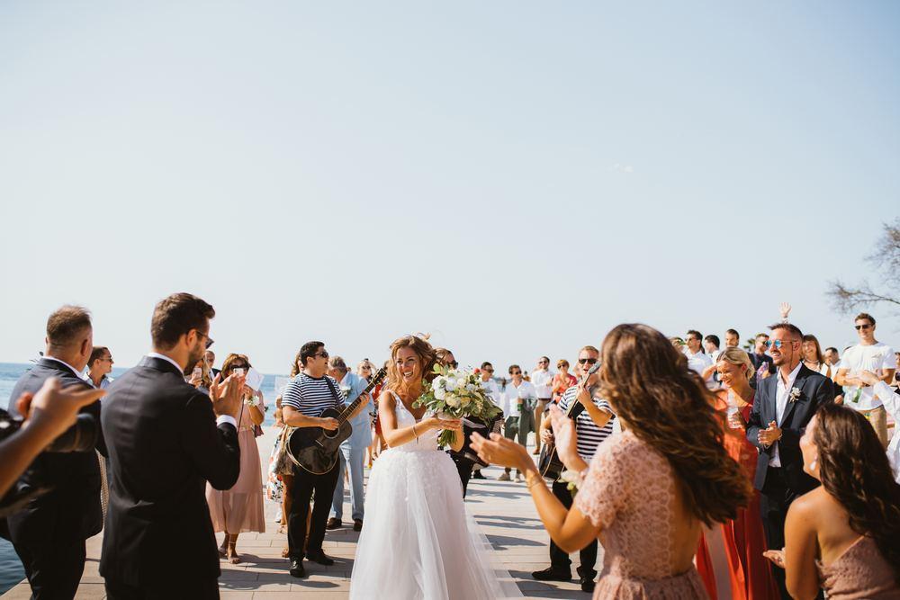 Outdoor wedding venues in Croatia